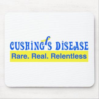 Cushings Krankheit:  Selten. Wirklich. Mousepad