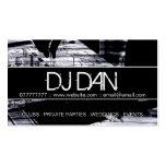 Custom DJ Business Cards Visitenkarten