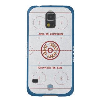 Custom Hockey Rink Case Galaxy S5 Cases