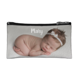 Custom photo and name etui personalized Makeup-Tasche