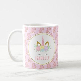 Customizabele Unicorn-heiße Schokoladen-Tasse für Kaffeetasse