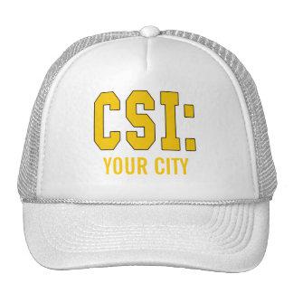 CUSTOMIZEABLE CSI Produkte Netzmütze