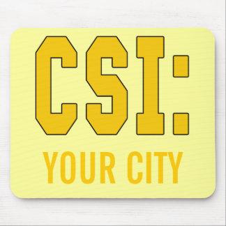 CUSTOMIZEABLE CSI Produkte Mousepad