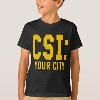 CUSTOMIZEABLE CSI Produkte T-Shirt