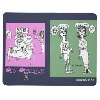 Customizeable Mädchen-Power-Notizbuch Taschennotizbuch