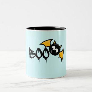 Cute Halloween Boo Bat - Fledermaus Zweifarbige Tasse