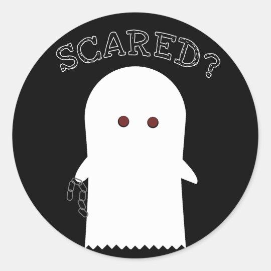 Cute Halloween Ghost Costume - Sticker