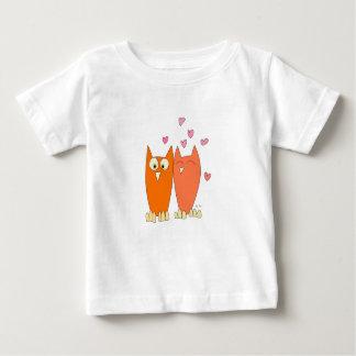 Cute little owls baby t-shirt