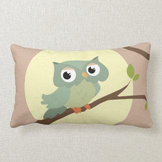 Cute owl lendenkissen