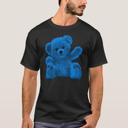 Cute Teddy Bear, Teddybär, blue T-Shirt