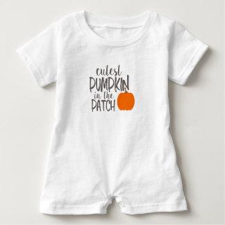 cutestpumpkin baby strampler