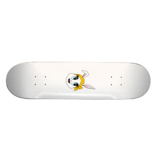 Cutesy Bunny™ Skateboard Personalisiertes Skateboarddeck