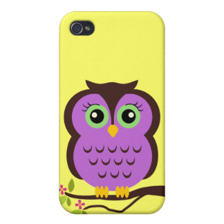 Cutesy Fall der Eulen-iPhone4 iPhone 4/4S Cover