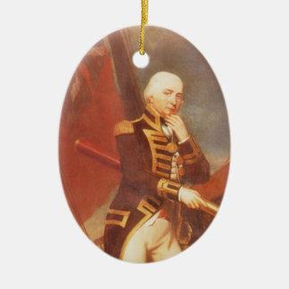 Cuthbert Collingwood Keramik Ornament