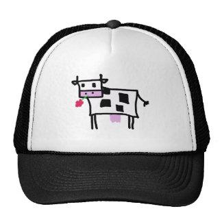 cutsie square cow retrokultmützen