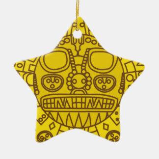 Cuzco Wappen Keramik Ornament
