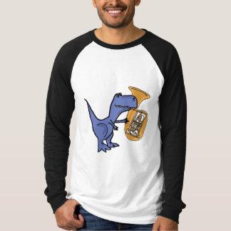 CY, T-Rex, der das Tuba-Shirt spielt T-Shirt