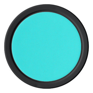 Cyan-blauer Stern-Staub Poker Chip Set