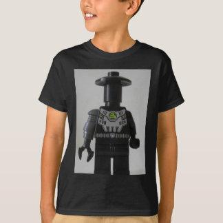 Cyber Droid Schatten-Soldat-Gewohnheit Minifigure T-Shirt