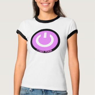 Cyber-Giftstoff-Logowecker T-Shirt