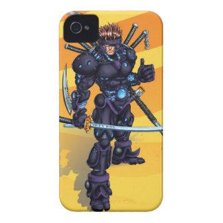 Cyber Ninja iPhone 4 Hüllen