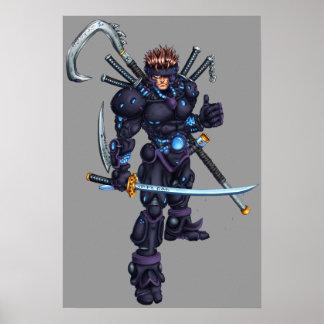 Cyber Ninja Poster