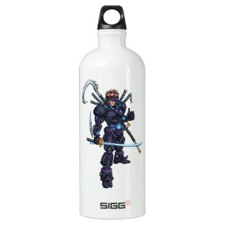 Cyber Ninja Wasserflasche