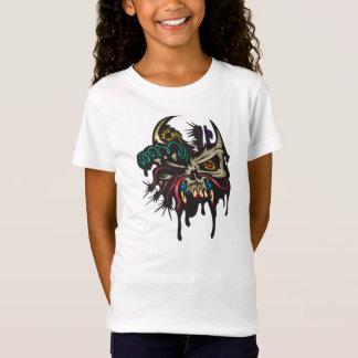 Cyber-Schädel mit Hörnern T-Shirt