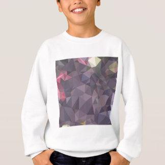 Cyber-Trauben-lila abstrakter niedriger Sweatshirt