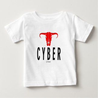 Cyber u. Stier durch VIMAGO Baby T-shirt