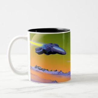 Cyberian Flug-Tasse Zweifarbige Tasse