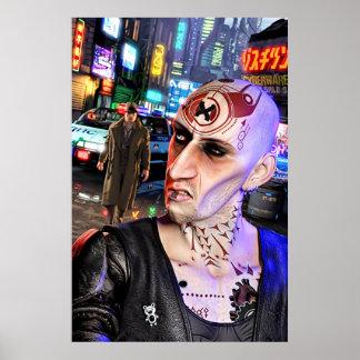 Cyberpunk Streetlife #1 Poster