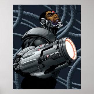 Cyborg-u. Waffen-Fehlschlag Poster