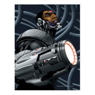 Cyborg-u. Waffen-Fehlschlag Postkarte