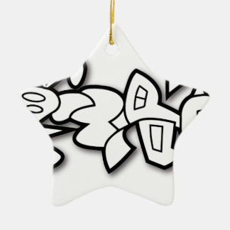 Cyclobunny Keramik Ornament