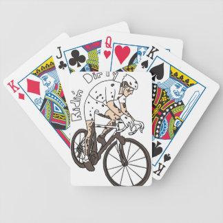 Cyclocross Reiter-Reiten schmutzig Bicycle Spielkarten