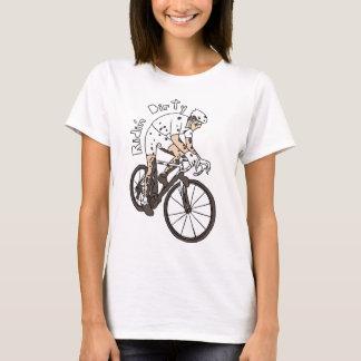 Cyclocross Reiter-Reiten schmutzig T-Shirt