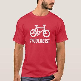 Cycologist Fahrrad-Shirt T-Shirt