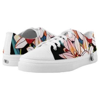 Cymbidium-Orchideen-hawaiisches Blumen Niedrig-geschnittene Sneaker