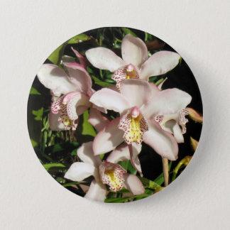 Cymbidium-Orchideenknopf Runder Button 7,6 Cm