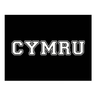 Cymru Postkarte