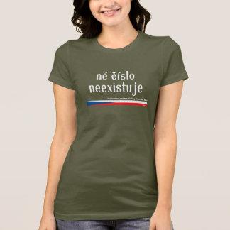 CZ die Zahl, die Sie nennen, existiert nicht Neci T-Shirt