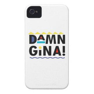 D A.M.N GINA iPhone 4 ETUIS