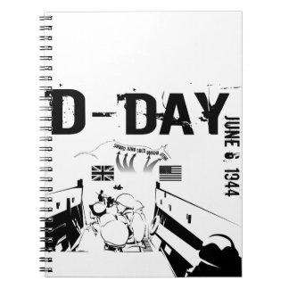 D-DAY SPIRAL NOTIZBLOCK