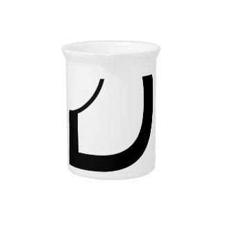 D für Entwurf Getränke Pitcher
