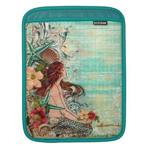 """D iPad u. MacBook-Hülse """"SeaShell-Meerjungfrau """" Sleeve Für iPads"""