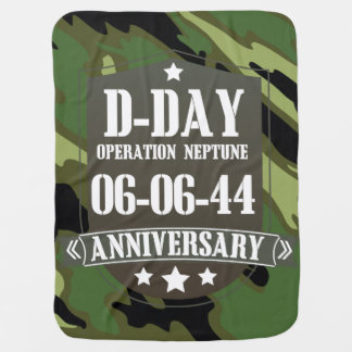 D-Tägiges Jahrestags-Abzeichen mit Tarnung Babydecke