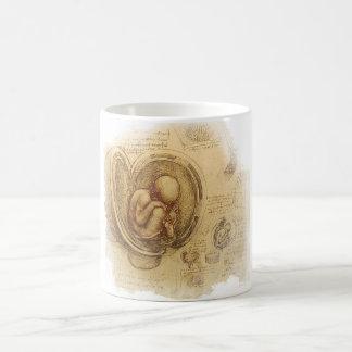 da Vinci - Embryo-Skizze Kaffeetasse