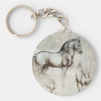Da Vinci-Pferdeschlüsselkette Schlüsselanhänger