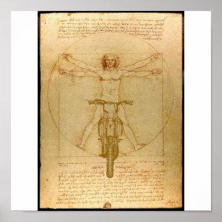 Da Vinci-Schmutz-FahrradMotocross Supercross Poster